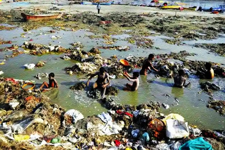 Modi Failed Cleaning Ganga