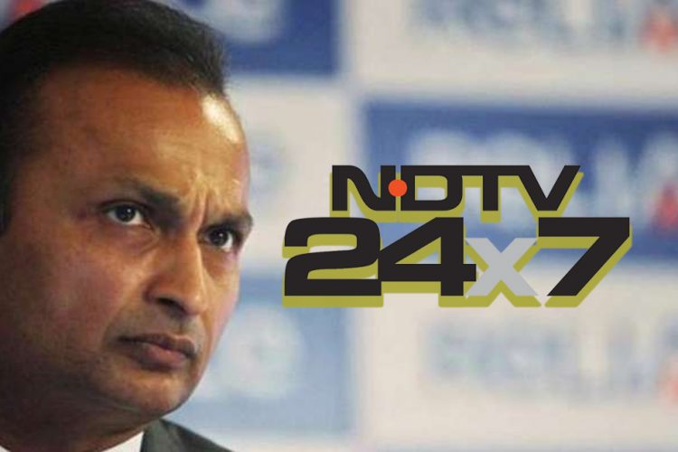 Reliance Sues NDTV