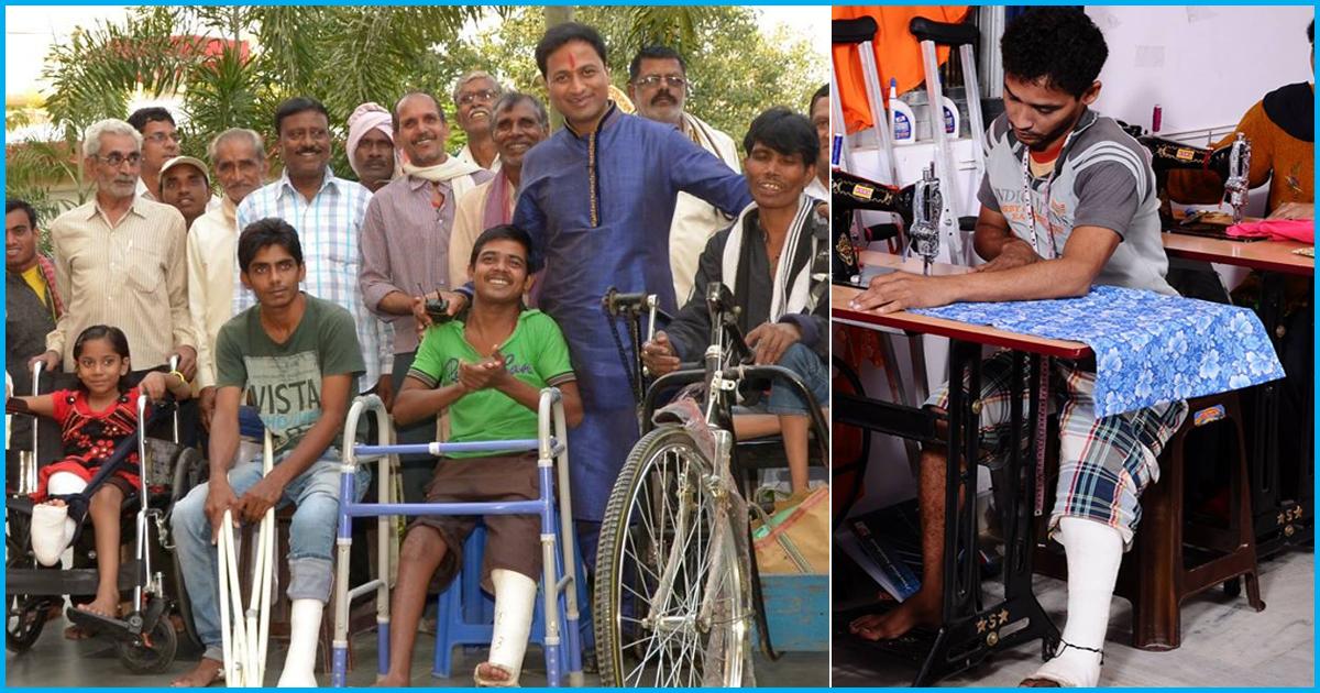 With Over 3 Lakh Individuals Treated Free Of Cost, This NGO Is A Saviour Of The Differently Abled