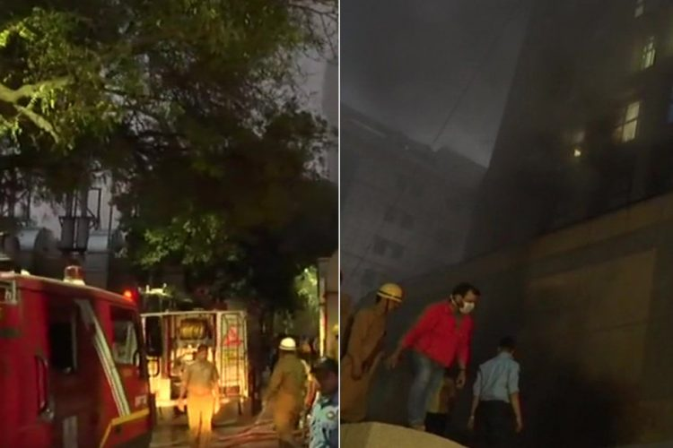 AIIMS Hospital Fire Delhi