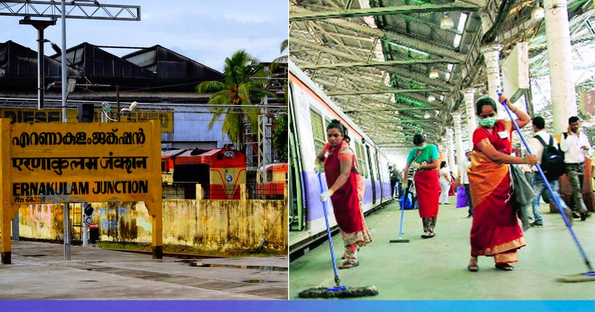 Kerala: Without Salary For 3 Months, Rail Sanitation Workers At Ernakulam Junction Go On Strike