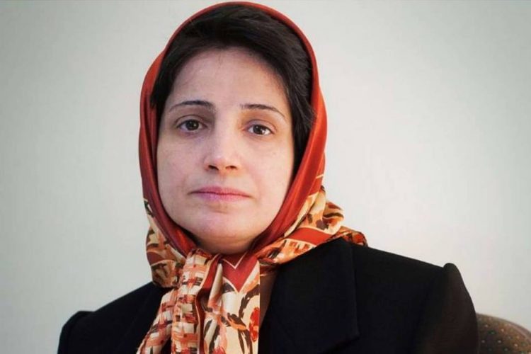 IRAN Iranian lawyers protest conviction of human rights activist Nasrin Sotoudeh