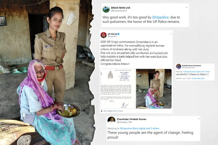 UP Police Praise Constable