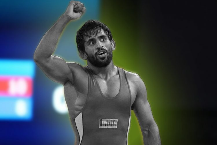 Bajrang Punia Win Gold