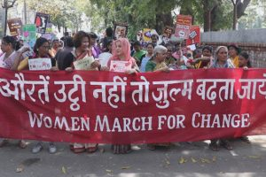 """Azadi Lekar Rahenge"": Thousands Of Women Take To Streets, Call For Voting Against BJP"