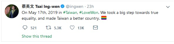 Taiwan Same-Sex Marriage Legislation
