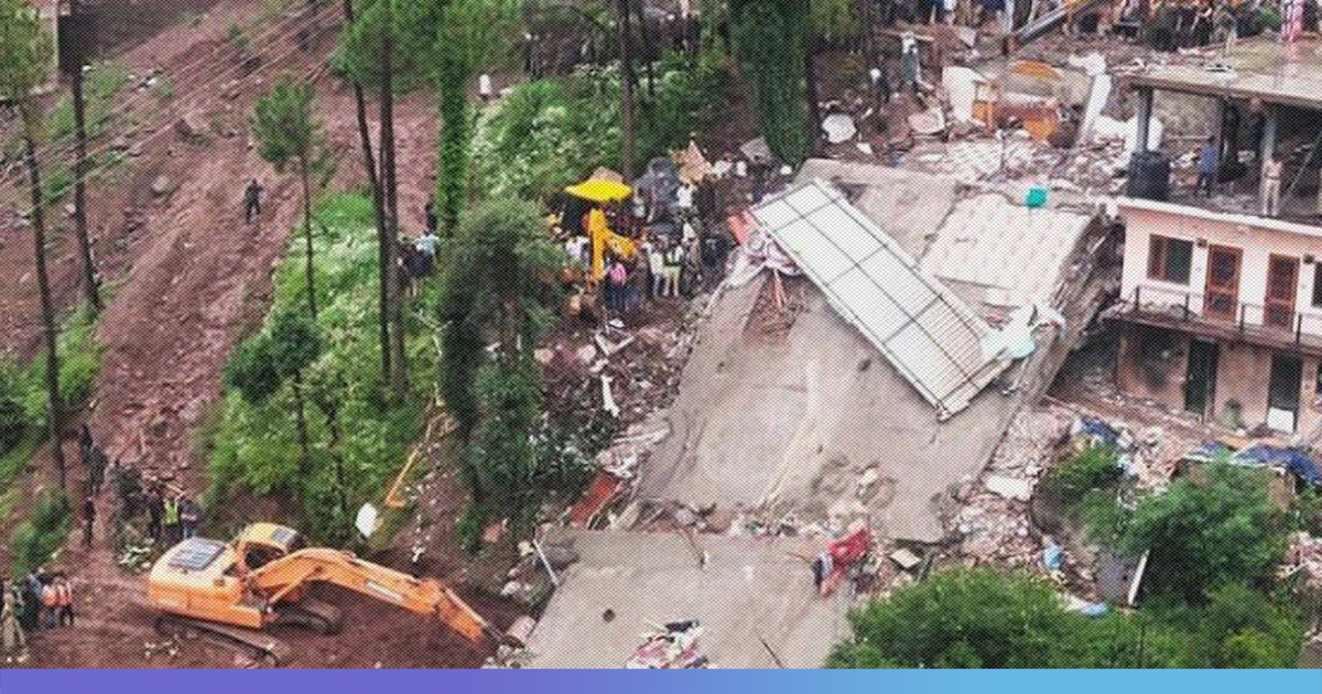 Himachal Pradesh: 13 Army Personnel Killed, 28 Injured After Building Collapsed Due To Heavy Rain