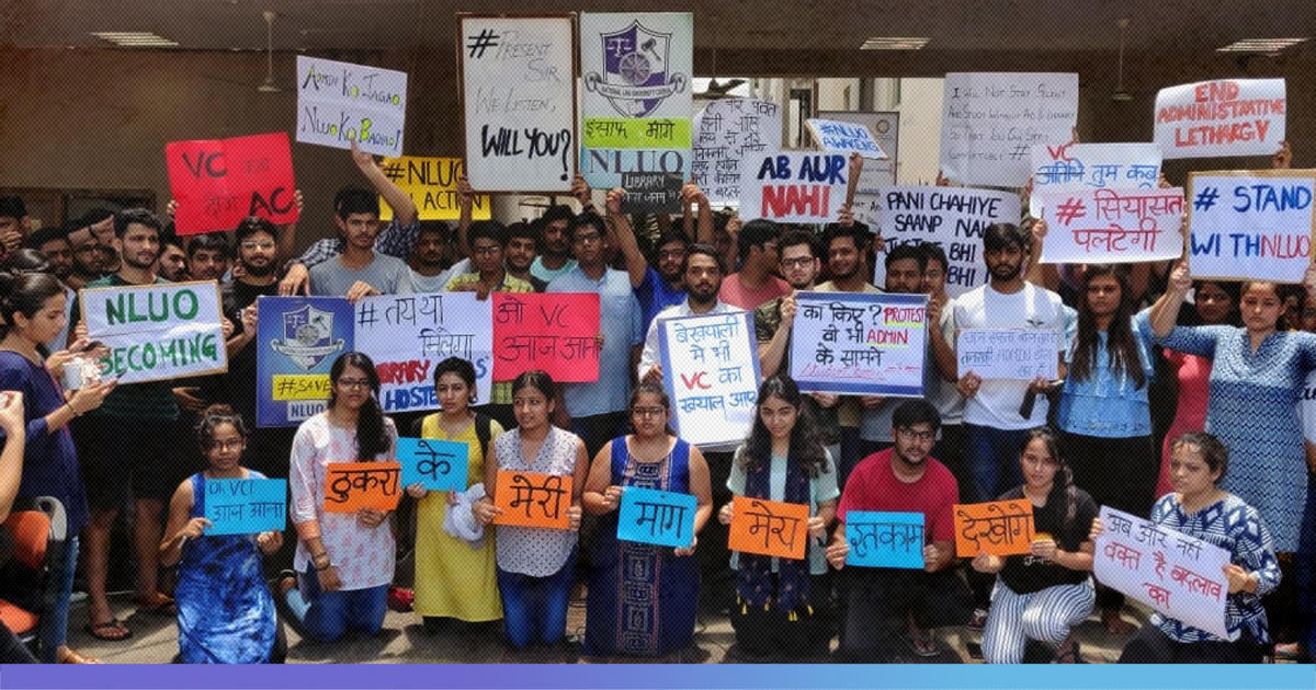 Odisha: National Law University Students Go On Indefinite Strike After Girl Students Forced To Live In Shabby Hostel