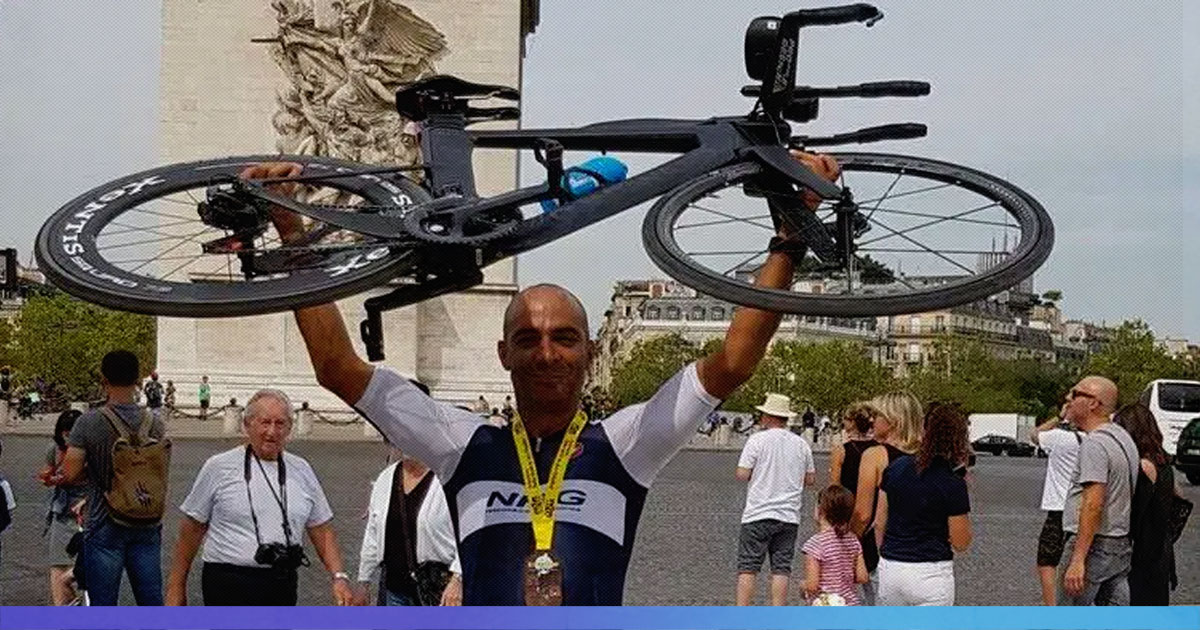 Mayank Vaid Completes Enduroman Triathlon In 50 Hrs, Breaks World Record, Becomes First Indian To Do So