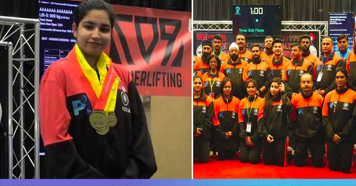 Indian Athletes Make Country Proud In Canada, 16-Year-Old Wins Four Gold In Powerlifting