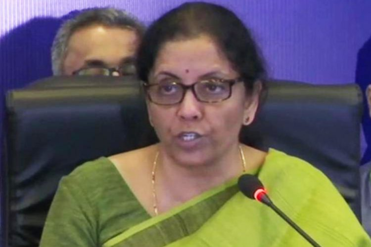 Nirmala Sitharaman GST Council