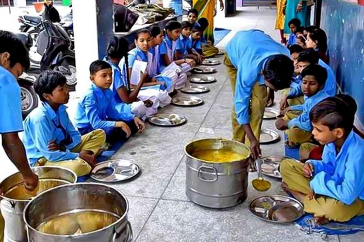 Mid Day Meal Assam Protest